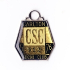 1975-76 Carlton Blues VFL Member Badge