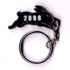 2008 South Sydney Rabbitohs NRL Member Keyring Badge