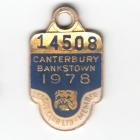 1978 Canterbury Bankstown Leagues Club Member Badge