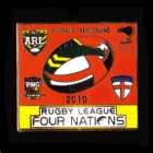2010 RL Four Nations Pin Badge p