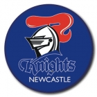 2009 Newcastle Knights NRL Logo SS Button Badge