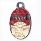1979-80 Manly Warringah Leagues Club Member Badge