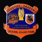 2010 NRL Grand Final Roosters v Dragons Pin Badge r