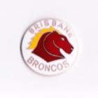 1998 Brisbane Broncos NRL FR Butterfly Pin Badge