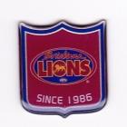2009 Brisbane Lions AFL LE Pin Badge