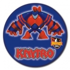 2010 Newcastle Knights NRL Mascot SS Button Badge