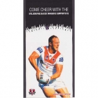 2011 St George Illawarra NRL Melbourne Based Dragons Card
