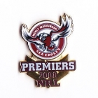 2008 Manly Warringah Sea Eagles NRL Premiers Pin Badge