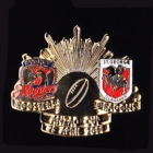 2011 NRL ANZAC Day Dragons v Roosters Pin Badge