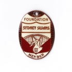 1982 Sydney Swans VFL Foundation Member Badge