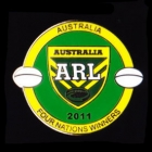 2011 Australia RL Four Nations Winners Pin Badge a2