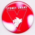 2005 Sydney Swans AFL Logo SS Button Badge