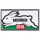 2010 South Sydney Rabbitohs NRL Member Sticker
