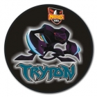 2010 Penrith Panthers NRL Mascot SS Button Badge
