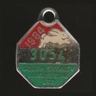 1984 South Sydney Leagues Club Member Badge