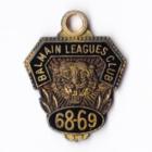 1968-69 Balmain Leagues Club Member Badge