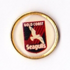 1995 Gold Coast Seagulls ARL Logo Bensons Pin Badge