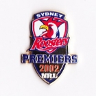 2002 Sydney Roosters NRL Premiers Pin Badge