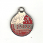 1978-79 Manly Warringah Leagues Club Member Badge