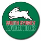 2009 South Sydney Rabbitohs NRL Logo SS Button Badge
