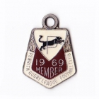 1969 Penrith Leagues Club Member Badge