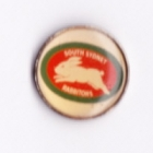 1994 South Sydney Rabbitohs NSWRL Silver Butterfly Pin Badge