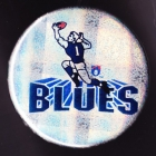 1970s Carlton Blues VFL Player Button Badge