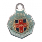 1986 NSW Leagues Club Member Badge