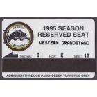 1995 Penrith Panthers NSWRL Season Ticket B E 15
