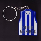 2006 Carlton Blues AFL Member Keyring Badge