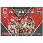 2010 St George Illawarra Dragons NRL Premiers Postcard
