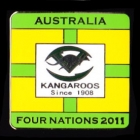 2011 Australia RL Four Nations Series Pin Badge a1