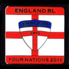 2011 England RL Four Nations Series Pin Badge e1