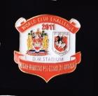 2011 WCC Dragons v Wigan Pin Badge bn1