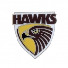 2011 Hawthorn Hawks AFL Logo Trofe Pin Badge