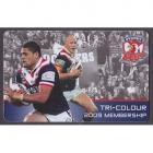 2009 Sydney Roosters NRL Member Card