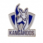 2011 North Melbourne Kangaroos AFL Logo Trofe Pin Badge