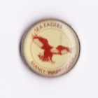 1994 Manly Warringah Sea Eagles NSWRL Silver Butterfly Pin Badge