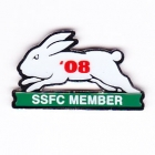 2008 South Sydney Rabbitohs NRL Member Pin Badge