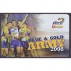 2008 Parramatta Eels NRL Member Card