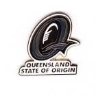 2009 QLD State of Origin Trofe Pin Badge