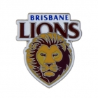 2011 Brisbane Lions AFL Logo Trofe Pin Badge