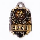 1973-74 Balmain Leagues Club Member Badge