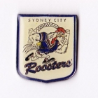 1998 Sydney City Roosters NRL AJ Parkes Pin Badge