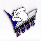 2004 Canterbury Bankstown Bulldogs NRL Premiers Pin Badge