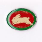 1998 South Sydney Rabbitohs NRL AJ Parkes Pin Badge