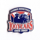 2007 Sydney Roosters NRL 100 Years Pin Badge