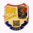 1996 ARL Broncos v Knights Streets Pin Badge