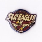 1998 Manly Warringah Sea Eagles NRL AJ Parkes Pin Badge