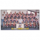 1998 Sydney City Roosters NRL Daily Telegraph Team Photo